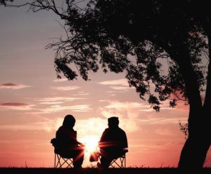 Outdoors mindfulness coaching